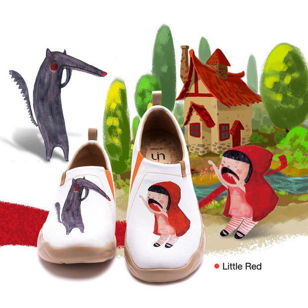 UIN Footwear Women Little Red Canvas loafers