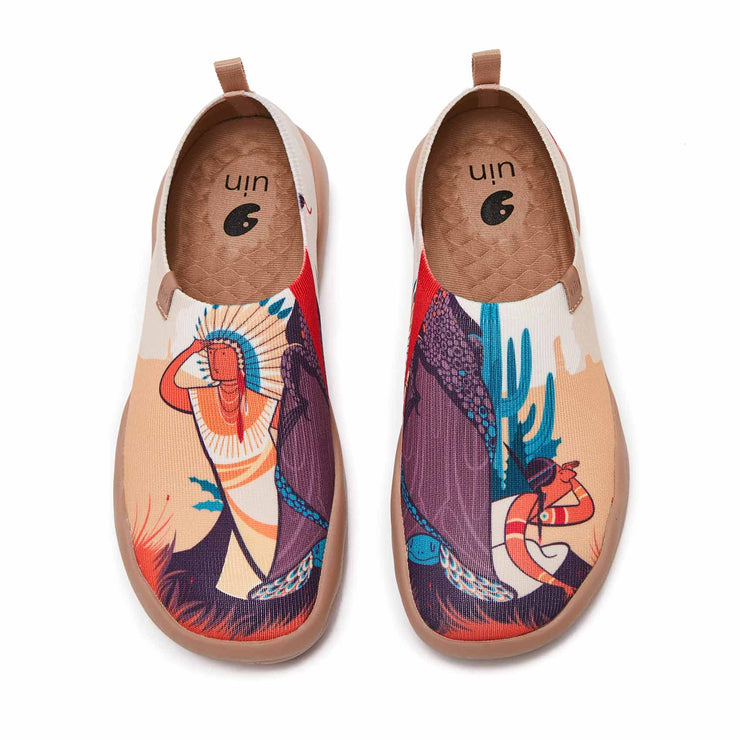 UIN Footwear Women Morning Adventure Canvas loafers