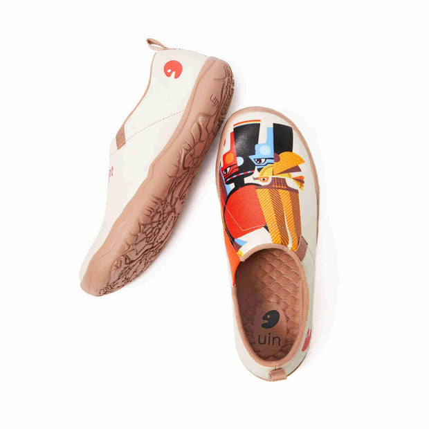 UIN Footwear Women (Pre-sale) The Pharaoh's Family Canvas loafers