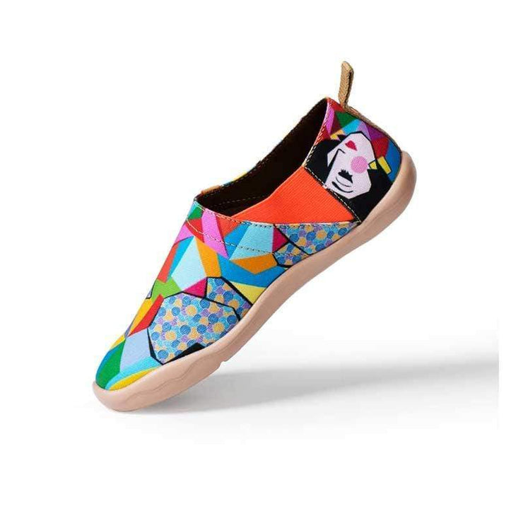 UIN Footwear Women Rainbow Girl Canvas loafers