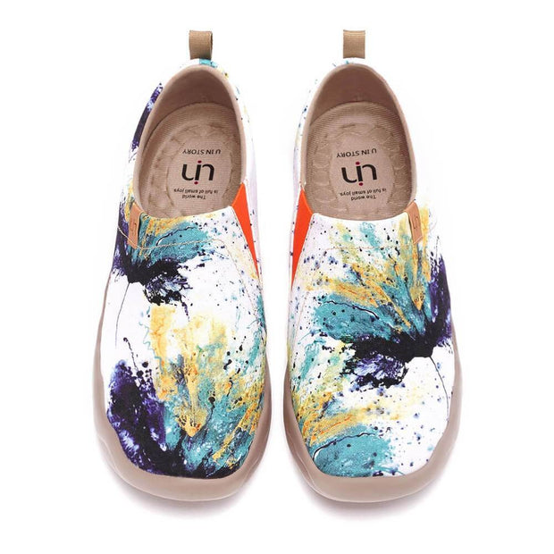 UIN Footwear Women Sound of Silence Canvas loafers