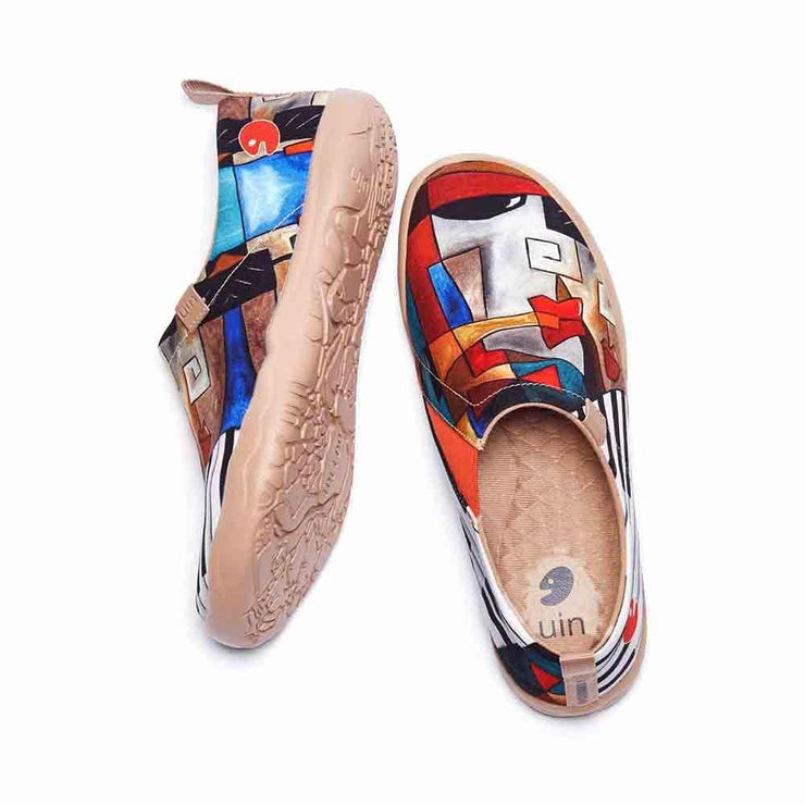 UIN Footwear Women Symphony Canvas loafers