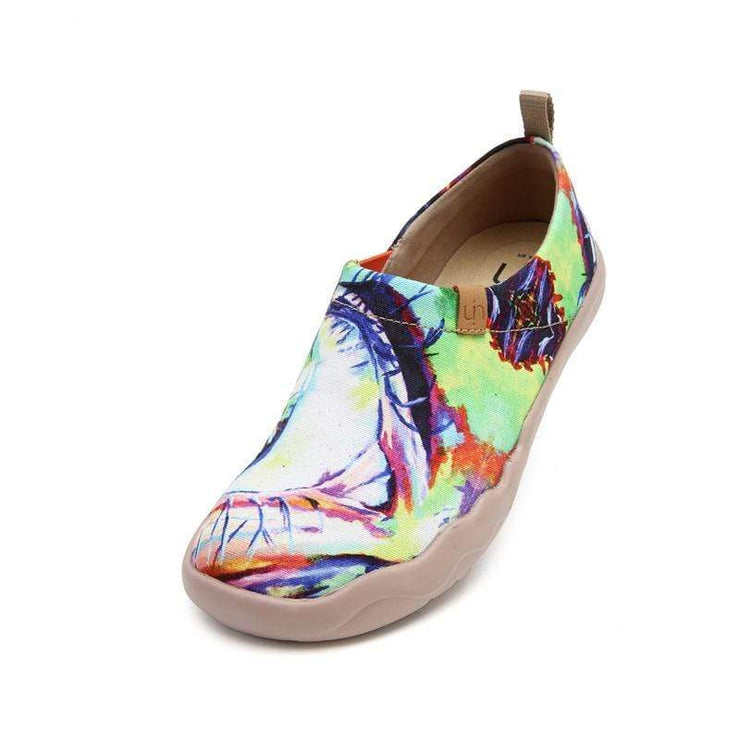 UIN Footwear Women The Eye Canvas loafers