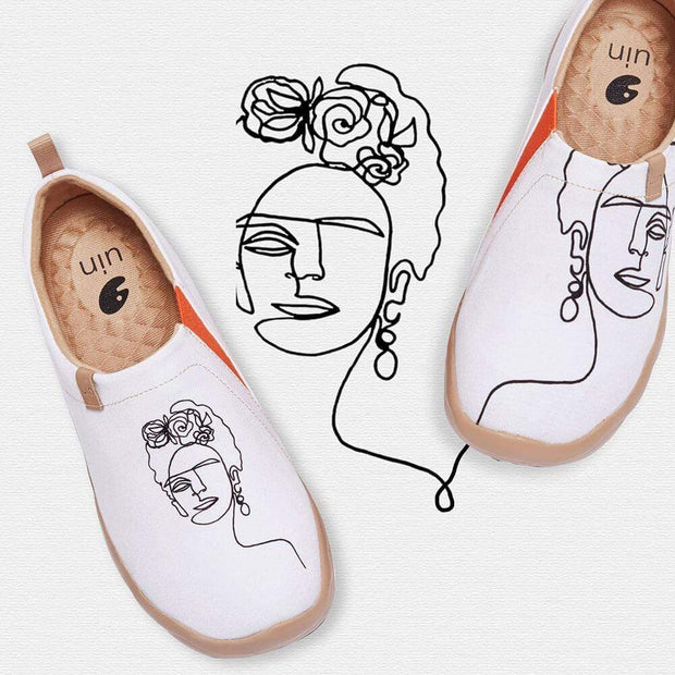 UIN Footwear Women Unibrow Women Canvas loafers