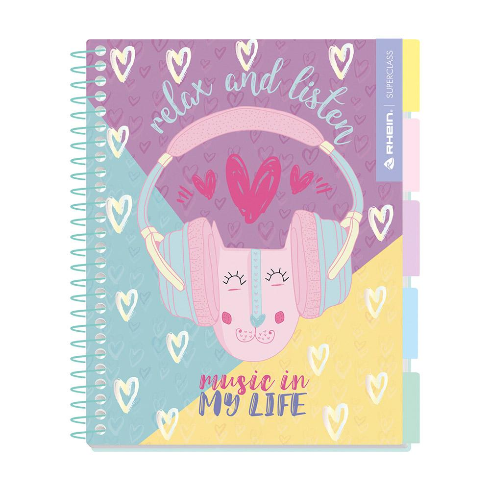 Cuaderno Premium Only Sweet Carta