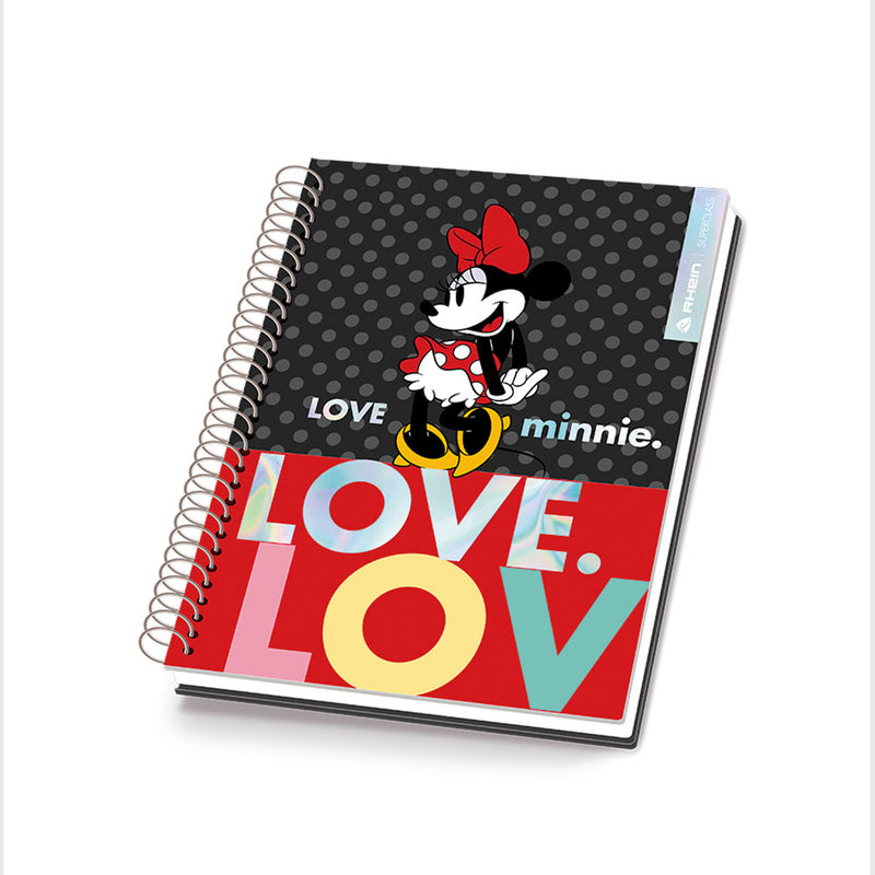 Pack 5 Cuadernos Minnie Premium