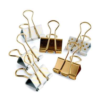 Binder Clips Mio Gold