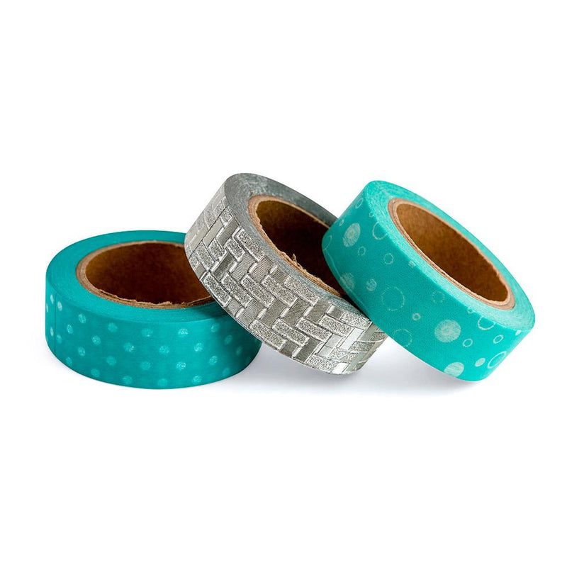 Cinta Washi Tape Diseño Mint