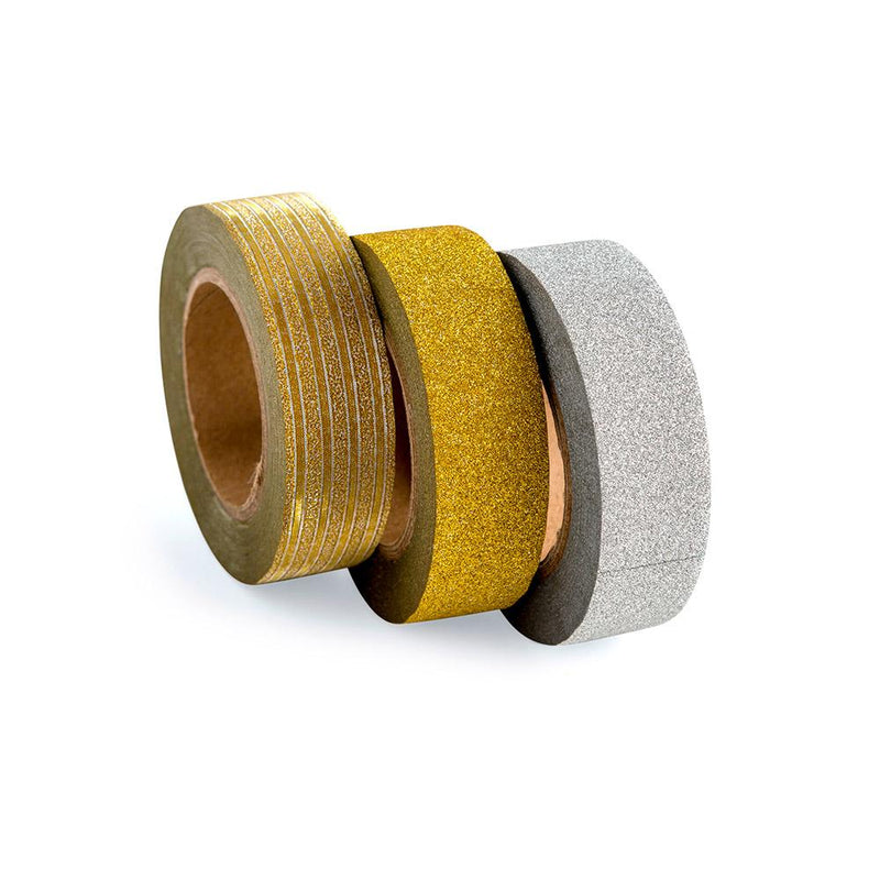 Cinta Washi Tape Diseño Gold