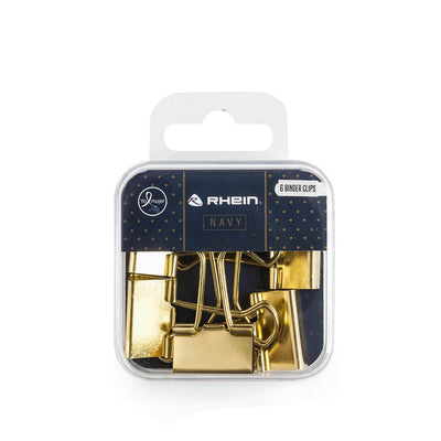 Binder Clips Navy Dorado