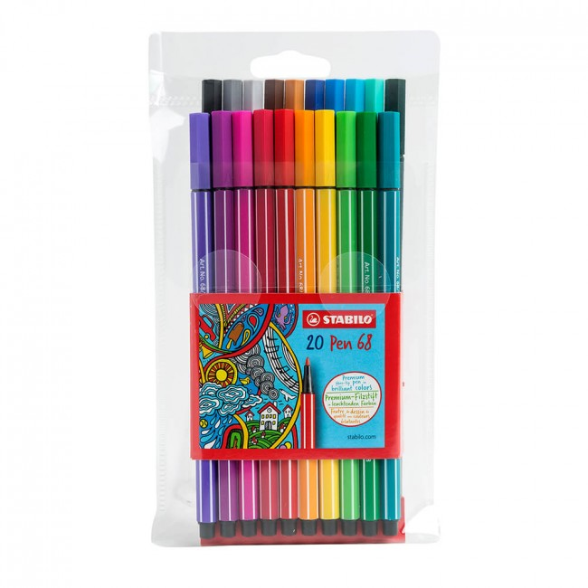 Set Lápices Stabilo Pen 68 Blister