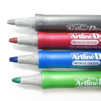 Artline Decorite Biselado Rojo