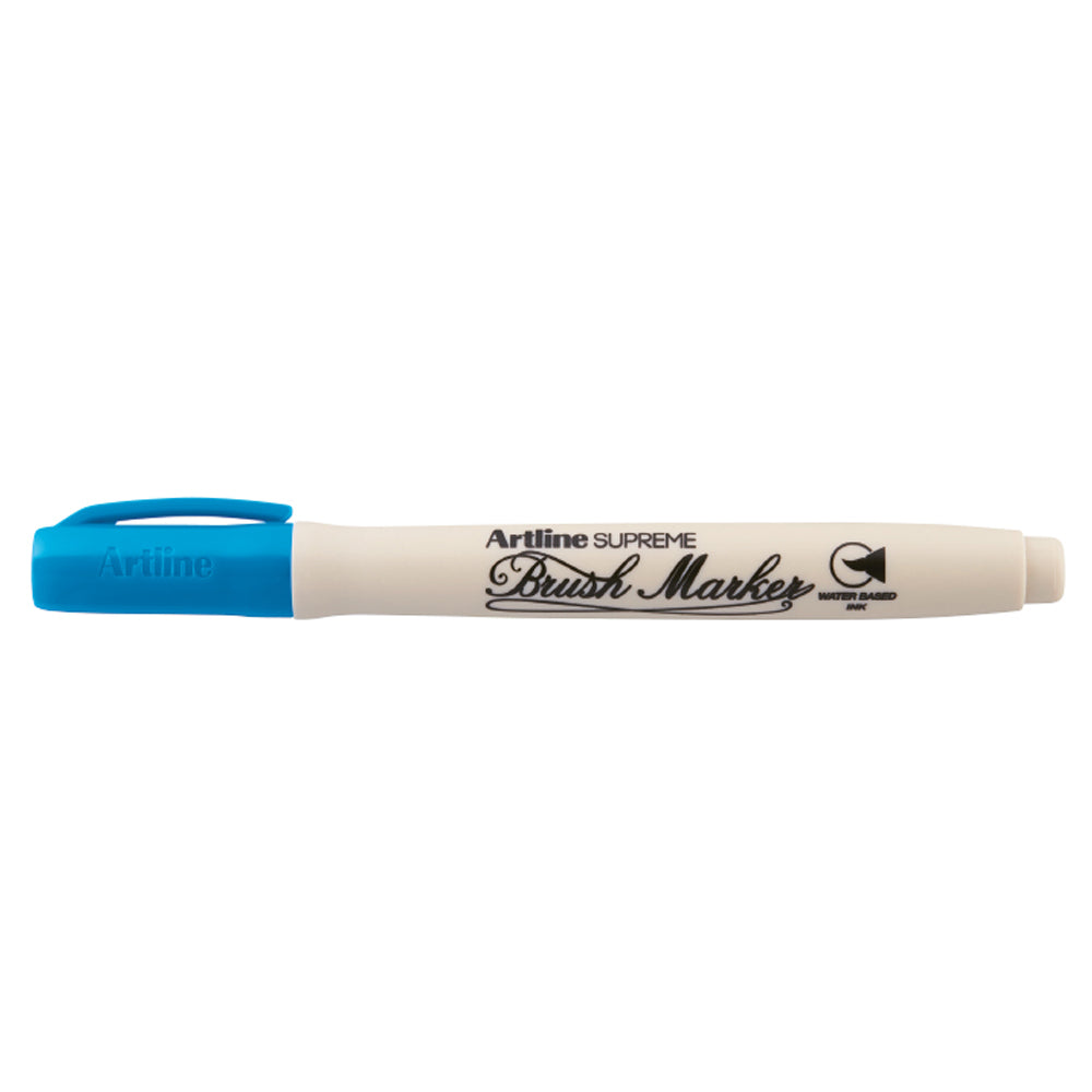 Artline Brush Marker Azul Rey
