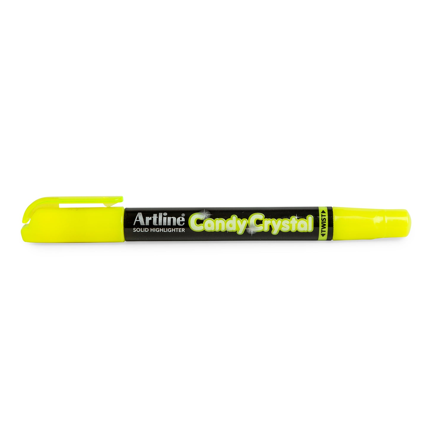 Lápiz Candy Crystal Amarillo