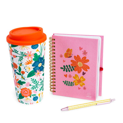 Set Regalo Mug Rosa Village