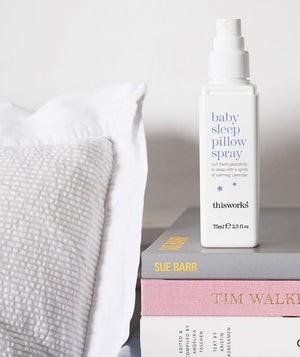 baby sleep pillow spray