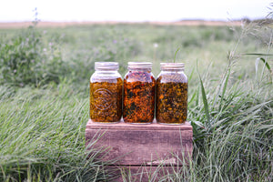 Herbal Oil Infusions