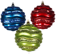 Wave Ball Ornament