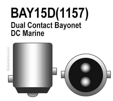 What Is The Difference Between A Ba15d Base Bay15d 1157 Base And Ba Bulbamerica
