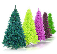 Christmas Trees with Lights LED Trees Tree Toppers BulbAmerica