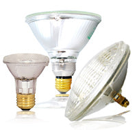 PAR - Parabolic Aluminized Reflector lamp widely used in commercial and residential illumination.