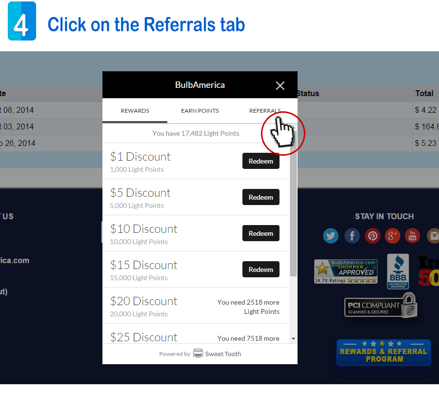 Referrals Program