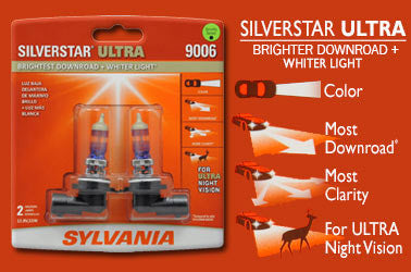 Sylvania Silverstar Ultra Automotive Bulbs