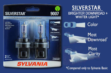 Sylvania Silverstar Automotive Bulbs
