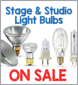 Stage and Studio Light Bulbs