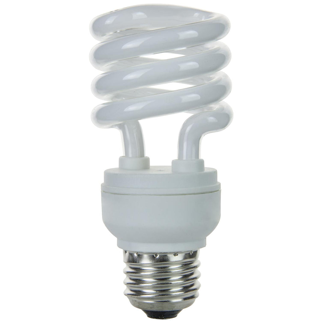 SUNLITE 23w T2 Medium Base 2700K Warm White Super Mini Spiral Lamp