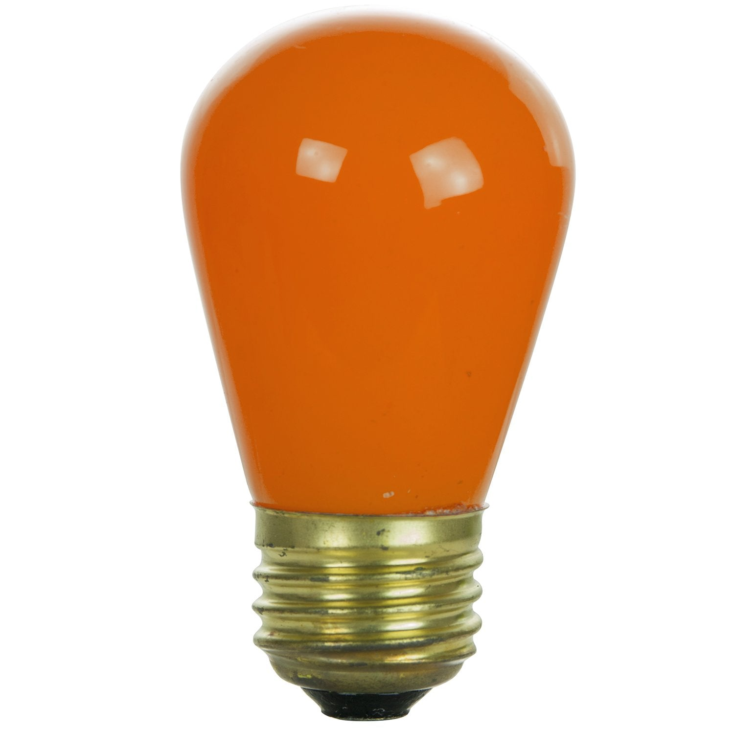 Sunlite 11w S14 Sign Ceramic Orange 120v Medium Base Bulb