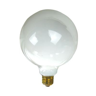 SUNLITE 100W 120V Globe G40 White E26 Incandescent Light Bulb
