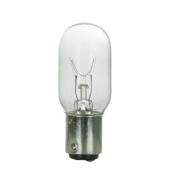 SUNLITE 15w T7 120v Double Contact Base Clear Bulb 25pcs