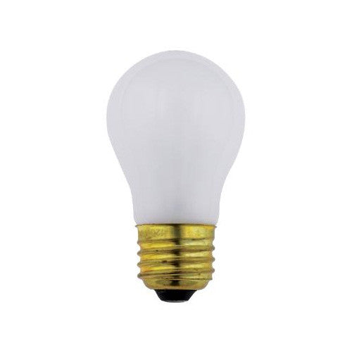 SUNLITE 60w A15 130v Medium Base Frost Appliance Light Bulb
