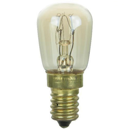 Sunlite 25w Pre 120v E14 European Base Clear Bulb 25pcs Bulbamerica