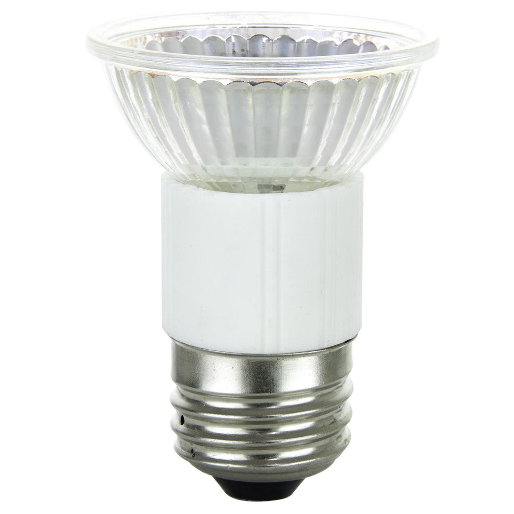 SUNLITE 75w 120v JDR MR16 Flood 38 deg. E26 Medium Base 3200K Halogen Lamp