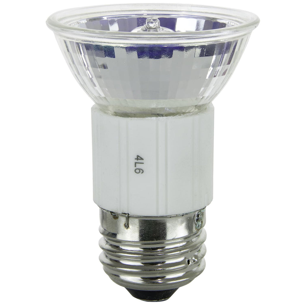 SUNLITE 100w 120v JDR MR16 Flood 38 deg. E26 Medium Base3200K Halogen Lamp