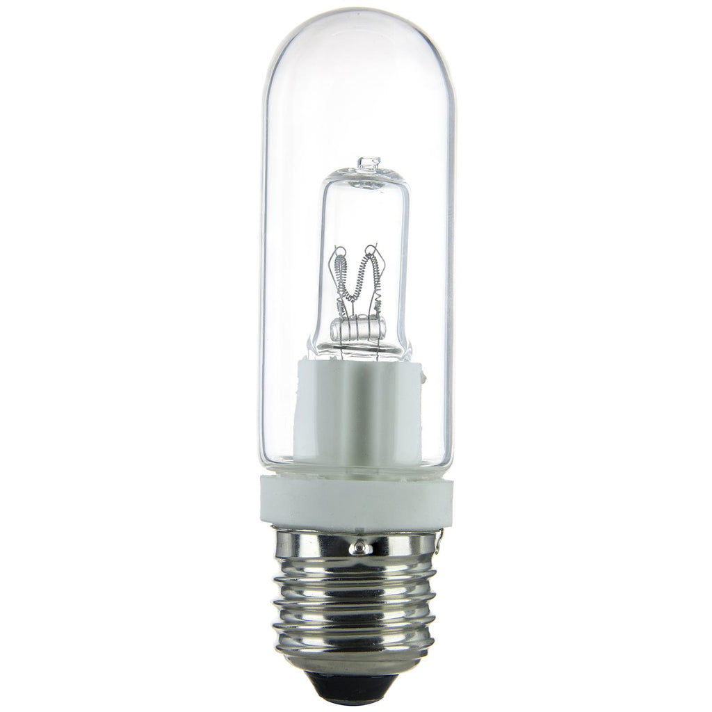 Sunlite 150w T10 Single Ended Double Envelope Medium Base Clear  Halogen Lamp