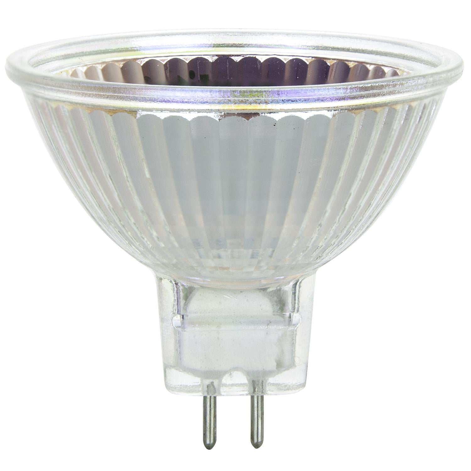 SUNLITE 50w 12v MR16 Flood 38deg. GU5.3 Bi-Pin 3200K Halogen Bulb