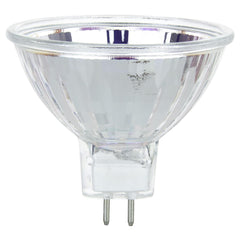 SUNLITE 50w 12v MR16 Flood 38deg. GU5.3 Bi-Pin 3200K Carded Halogen Bulb