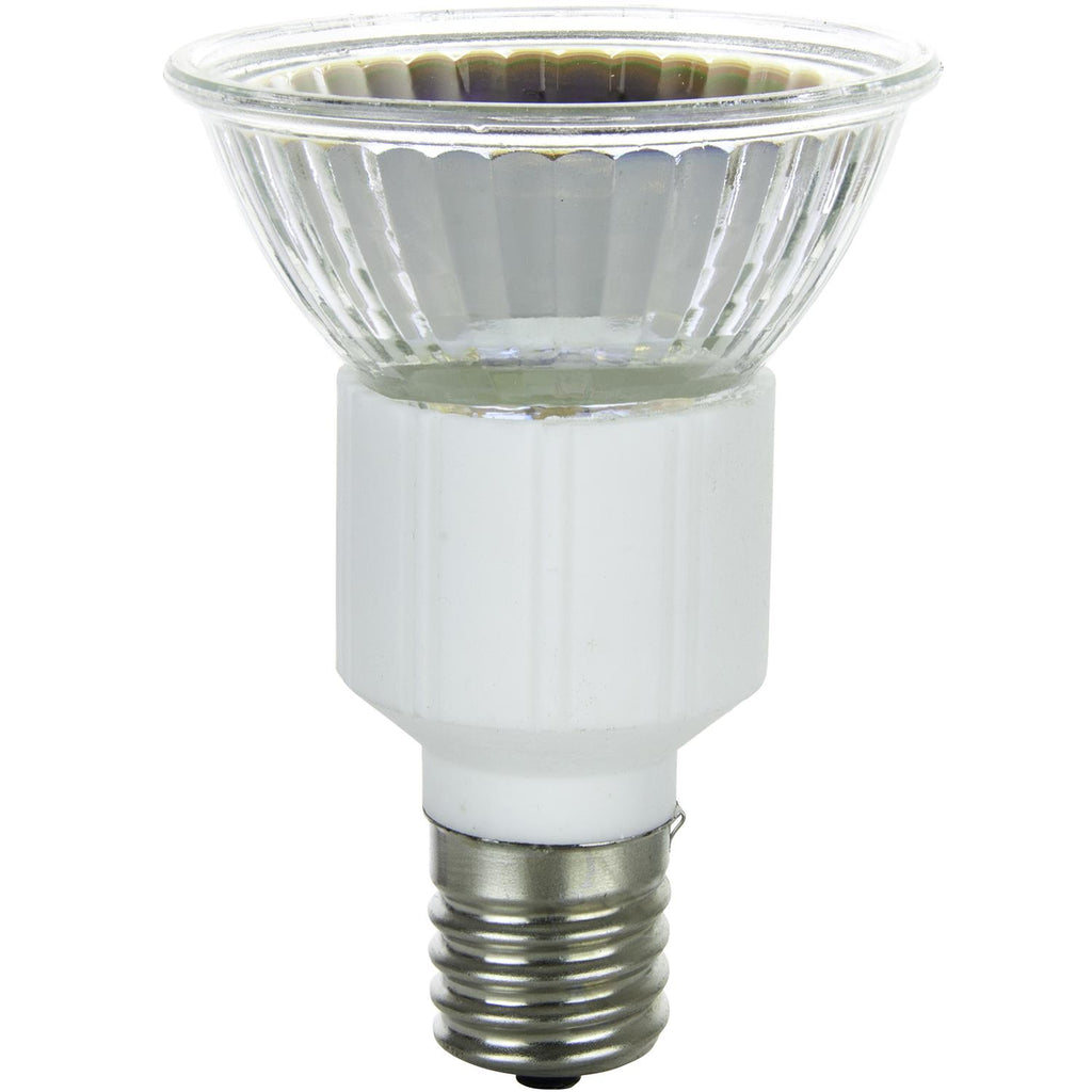 Sunlite 50w 120v JDR MR16 Flood 38deg. Intermediate Base 3200K Lamp