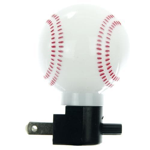 SUNLITE 12pcs Night Light White Baseball E165