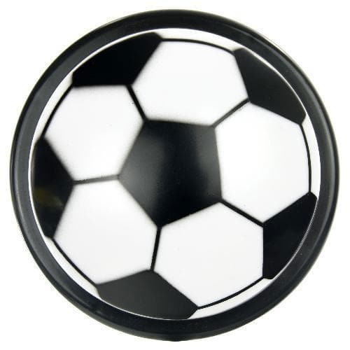 SUNLITE 12pcs Soccer Push Lite Black & White Color E184