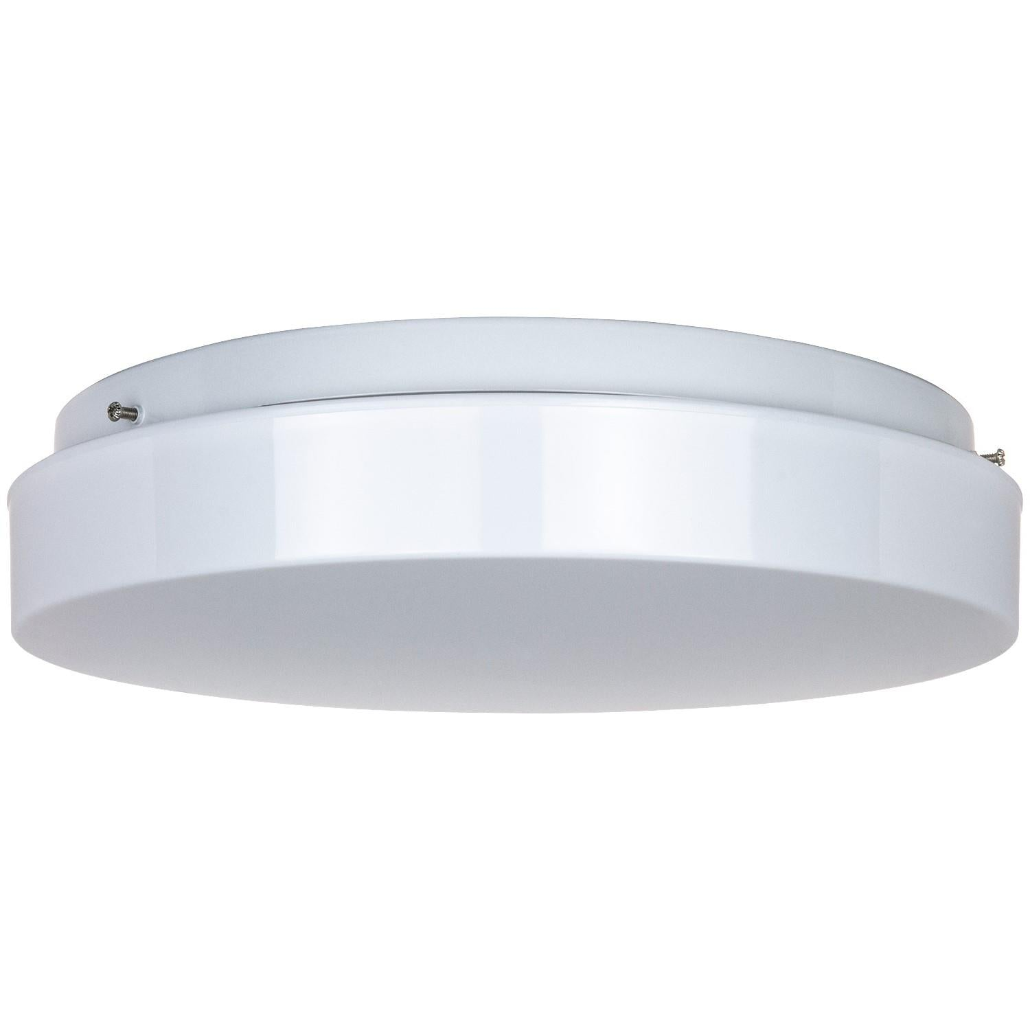 SUNLITE 11inch Circline Fluorescent Fixture with White Plastic Cover for FC8T9