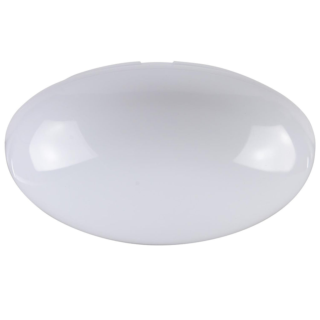 SUNLITE 14 inch White Mushroom Surface Mount Indoor Replacement Lens