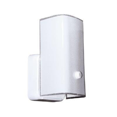 Sunlite White Glass 7 In Vertical Bathroom Fixture