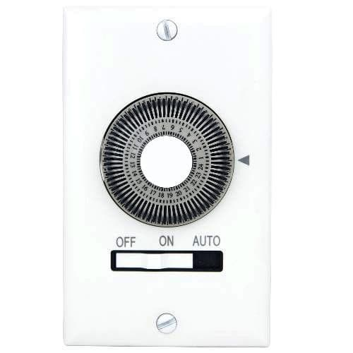 SUNLITE T600 1800w Mechanical In-Wall Timer White Color