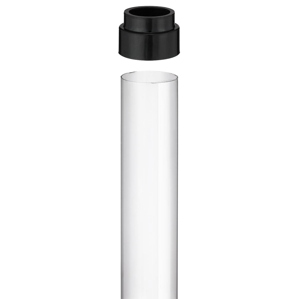 SUNLITE 25W T8 tubeguard clear finish