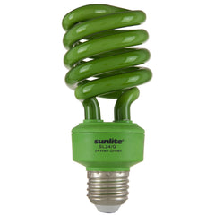 SUNLITE 00555 Compact Fluorescent 24W Super Twist CD Colored Bulb