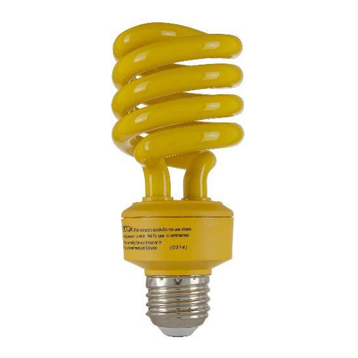 SUNLITE 24W Yellow Super Twist Compact Fluorescent Bulb